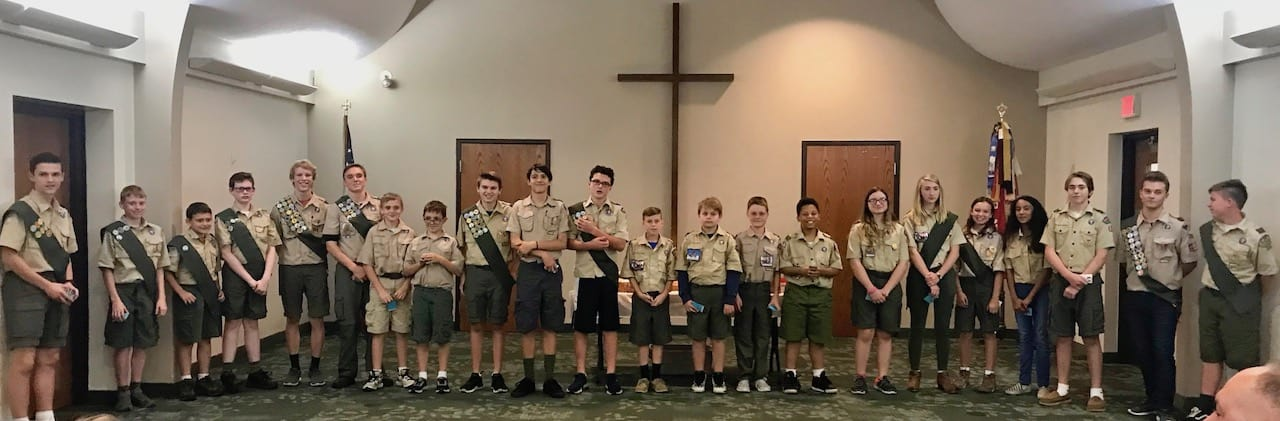 Troop 390 October Court of Honor