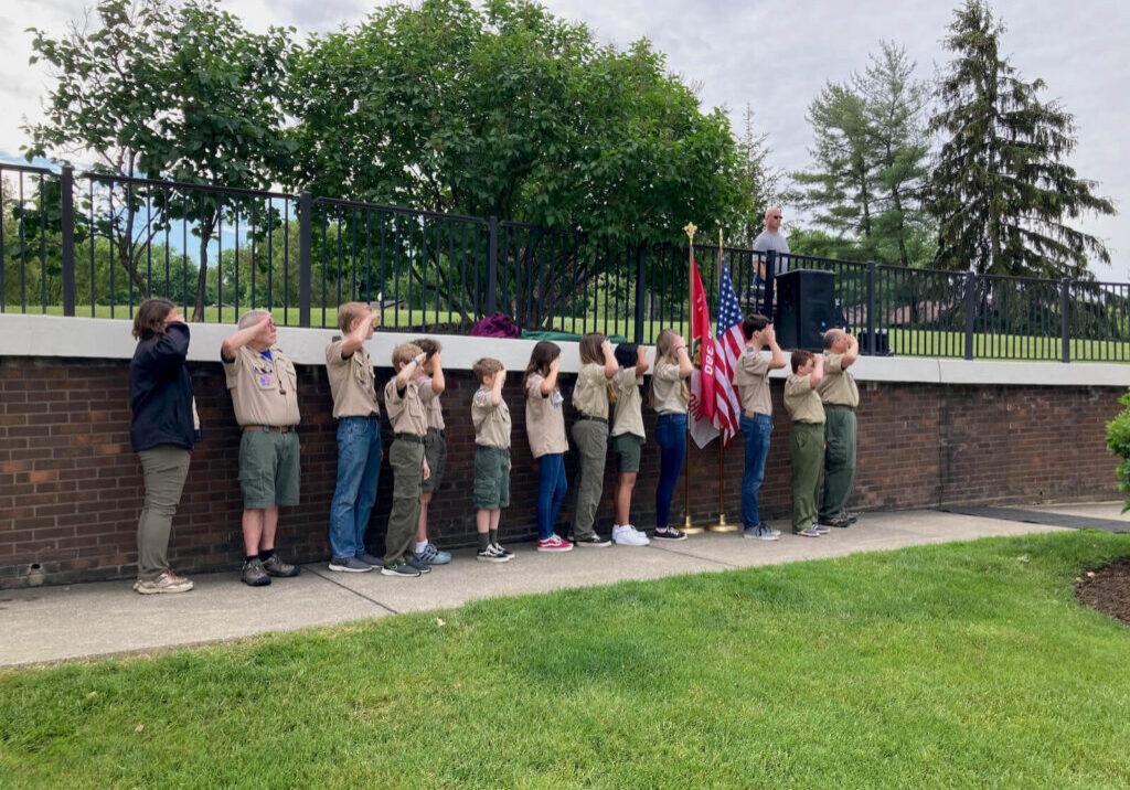 VFW Memorial Day Service